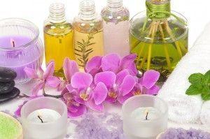 Aceites esenciales o aceites vegetales concentrados