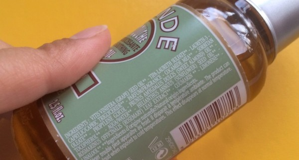 Ingredientes INCI – Ingredientes cosméticos III