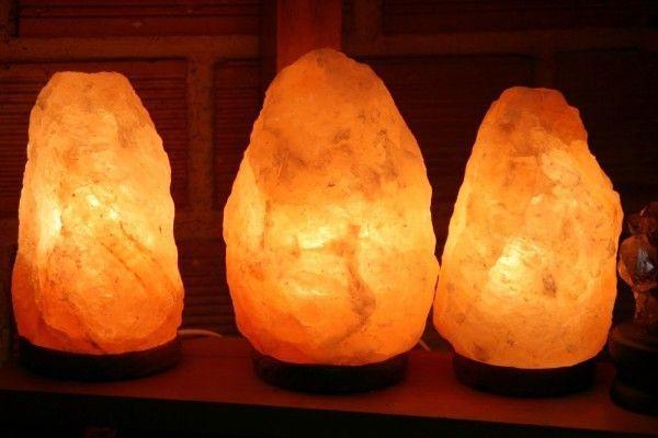 Las lámparas de sal del Himalaya y la salud