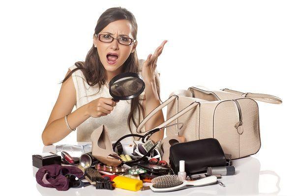 Organizar un bolso no es fácil
