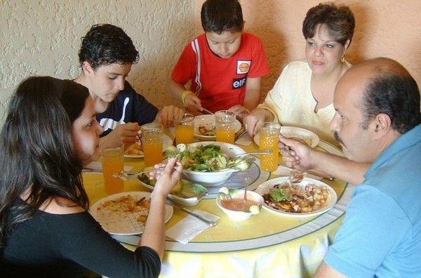 La familia y la alimentación