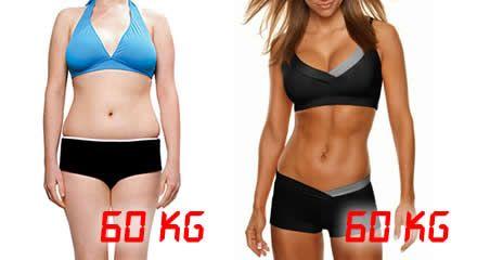 Perder kilos según la báscula no es adelgazar